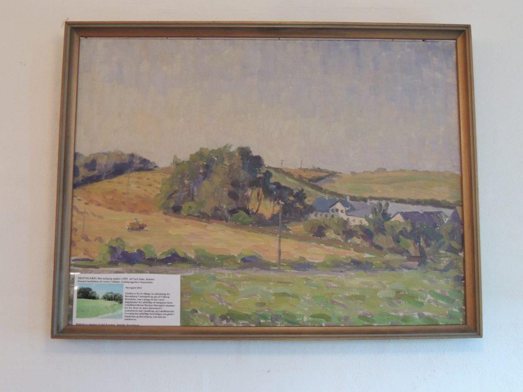 Maleri af gården Skovsgaard