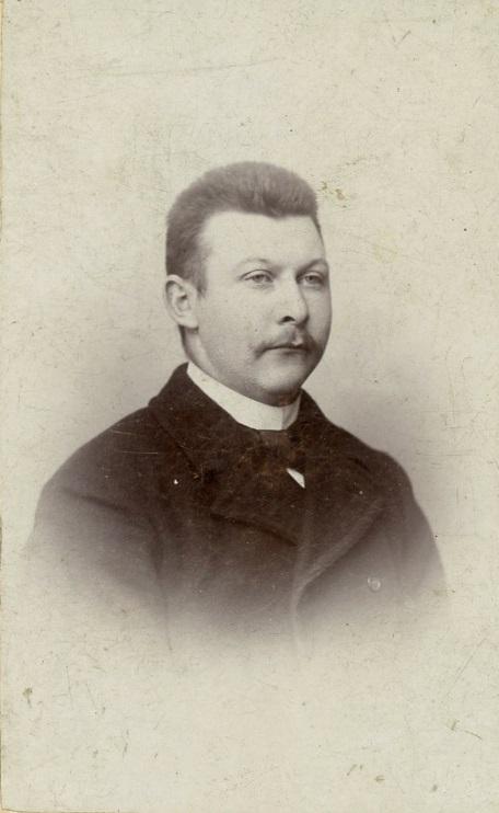 Rasmus Skovsgaard som ung