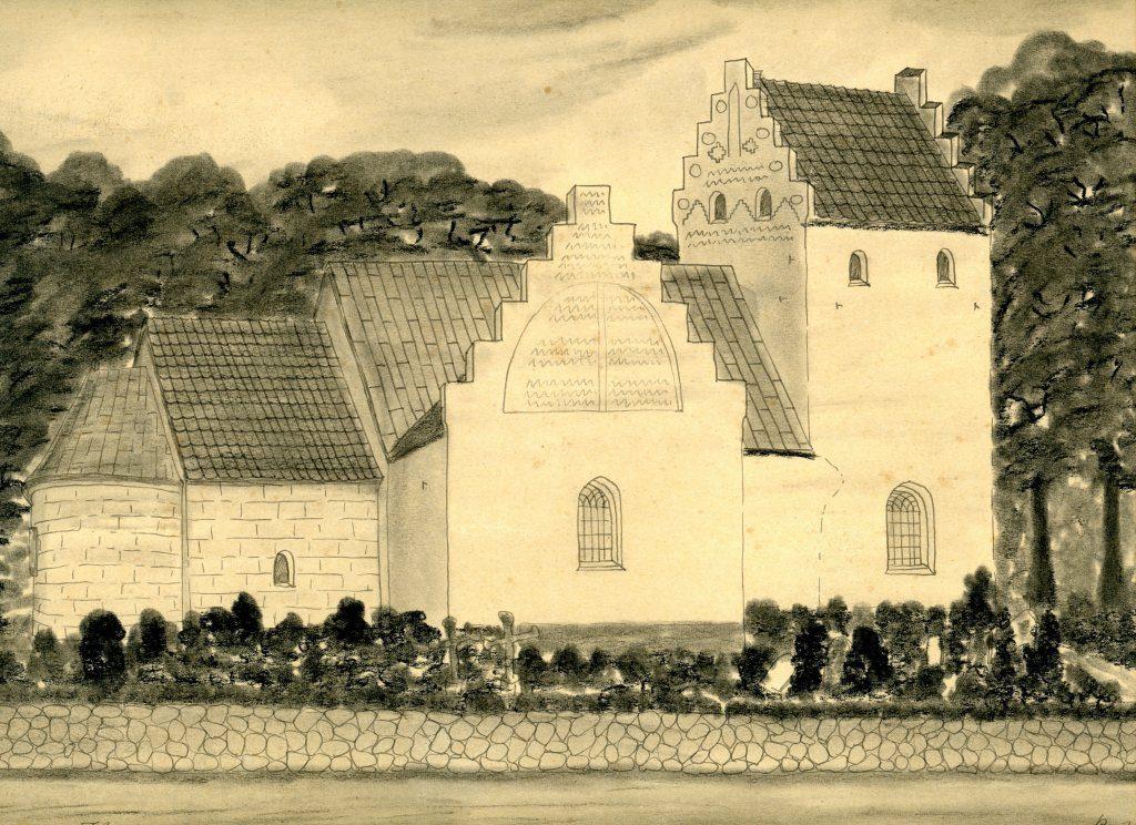 Teging Sanderum Kirke 1936